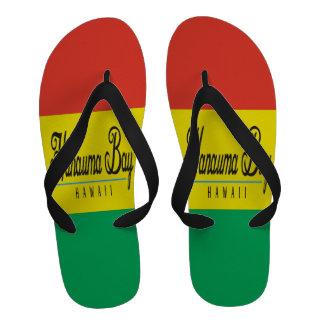 Bascules électroniques de reggae d Hawaï de baie d Sandales