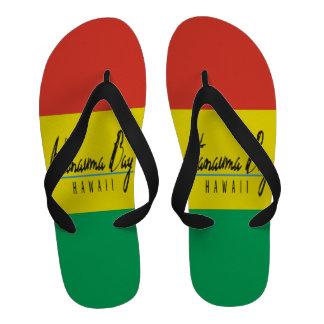 Bascules électroniques de reggae d Hawaï de baie d Chaussures D'été
