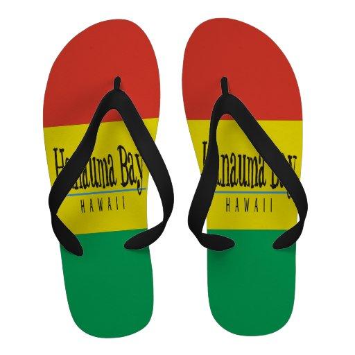 Bascules électroniques de reggae d'Hawaï de baie d Chaussures D'été