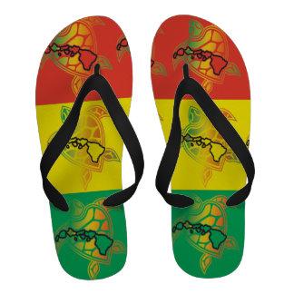 Bascules électroniques de tortue de reggae d Hawaï Tongs