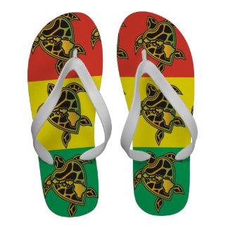 Bascules électroniques de tortue de reggae d Hawaï Chaussures De Plage