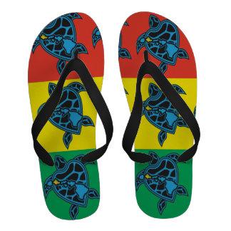 Bascules électroniques de tortue de reggae d Hawaï Flip Flops