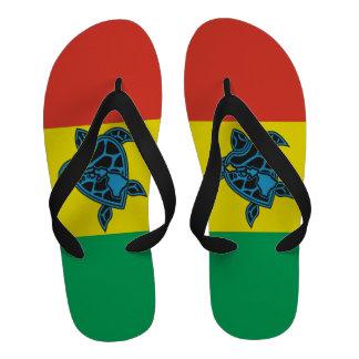 Bascules électroniques de tortue de reggae d Hawaï Sandales