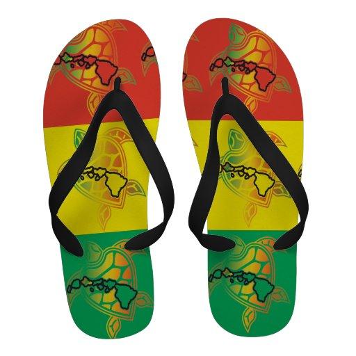 Bascules électroniques de tortue de reggae d'Hawaï Tongs