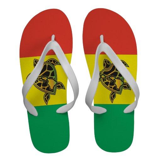 Bascules électroniques de tortue de reggae d'Hawaï Sandales