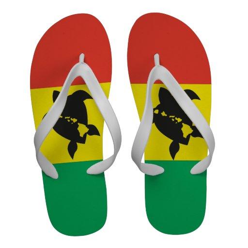 Bascules électroniques de tortue de reggae d'Hawaï Chaussures De Plage