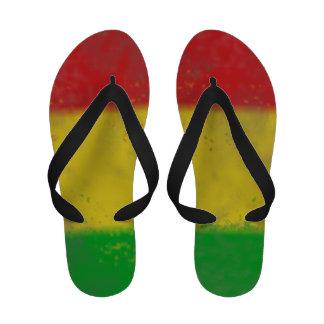 Bascules électroniques sales de Rasta Chaussures De Plage
