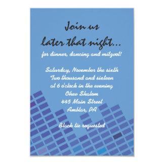 Basculez la carte de partie d'invitation de bat carton d'invitation 8,89 cm x 12,70 cm