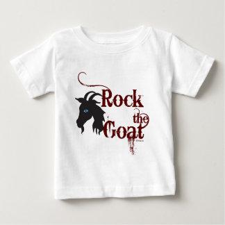 Basculez la chèvre t-shirt pour bébé