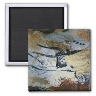 Basculez la peinture d'un taureau avec de longs kl magnet carré