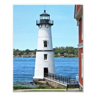 Basculez le phare d'île, copie de photo de New
