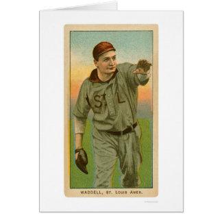 Base-ball 1909 de Rube Waddell Cartes