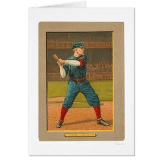 Base-ball 1911 de rouges de Tom Downey Cartes