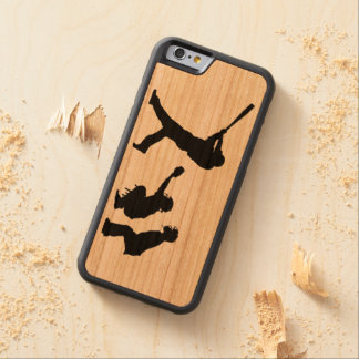 Base-ball Coque Pare-chocs En Cerisier iPhone 6