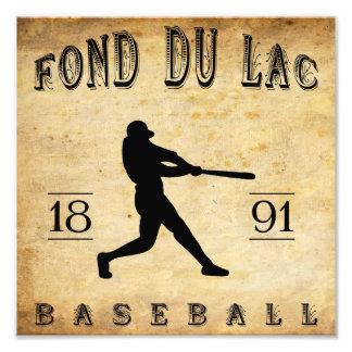 Base-ball de 1891 Fond du Lac le Wisconsin Photographe