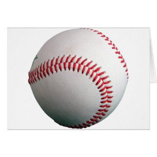 Base-ball entièrement Customizeable Carte De Vœux