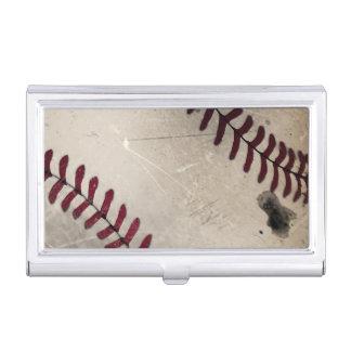 Base-ball grunge vintage frais porte-cartes de visite