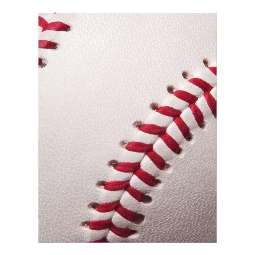 Base-ball - modèle d'arrière - plan de base-ball d prospectus customisé