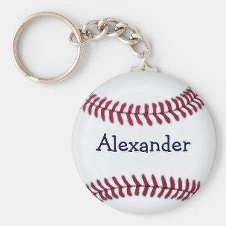 Base-ball personnalisé par cool porte-clef
