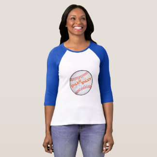 Base-ball raglan Dilly Dilly de douille du T-shirt