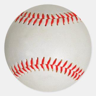 Base-ball Sticker Rond