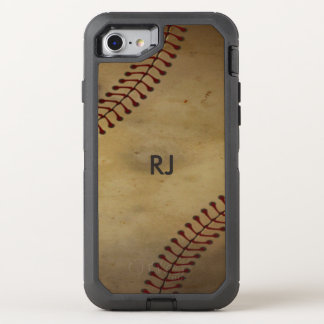 Base-ball vintage coque OtterBox defender iPhone 8/7