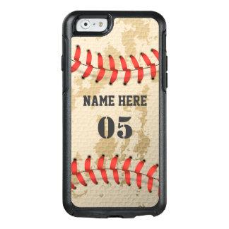 Base-ball vintage frais clair coque OtterBox iPhone 6/6s