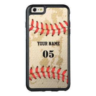Base-ball vintage frais clair coque OtterBox iPhone 6 et 6s plus