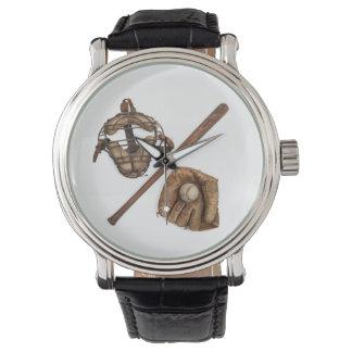 Base-ball vintage montres bracelet