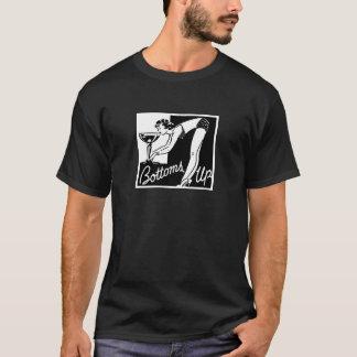 """""""Base vers le haut"""" de l'enterrement de vie de T-shirt"""