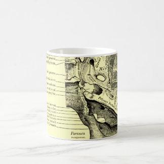 Base vintage de l'anatomie | de la surface mug