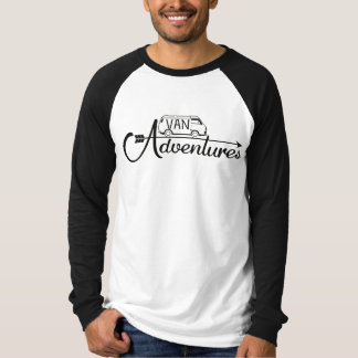 Baseball Man Van Adventures T-shirt
