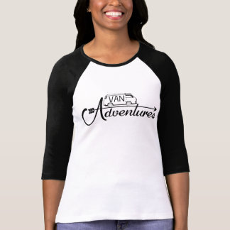 Baseball shirt 3/4 Woman Van Adventures T-shirt