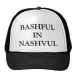 BASHFULIN NASHVUL CASQUETTES
