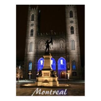 Basilique de Montréal Notre-Dame Carte Postale