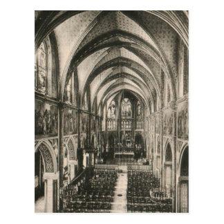 Basilique de Notre Dame du Sacre-Coeur Paris Carte Postale