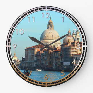 Basilique de salut de della Santa Maria Grande Horloge Ronde