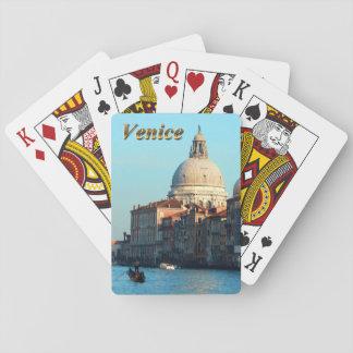 Basilique de salut de della Santa Maria Jeux De Cartes Poker