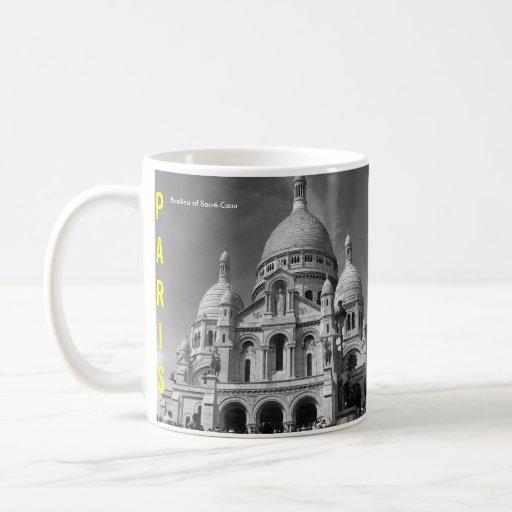 Basilique de tasse de Sacré-Cœur Paris France