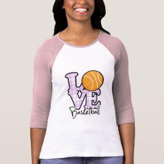 Basket-ball d'amour t-shirt