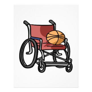 Basket-ball de fauteuil roulant prospectus 21,6 cm x 24,94 cm