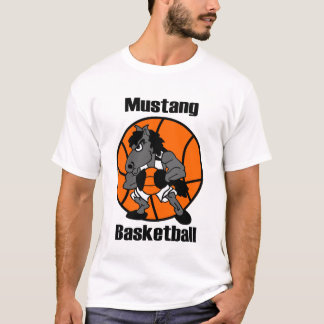 Basket-ball de mustang de Middleburg T-shirt