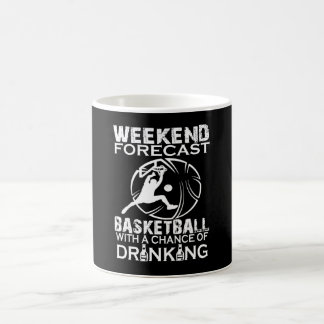 BASKET-BALL DE PRÉVISION DE WEEK-END MUG