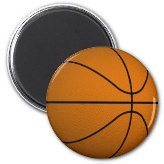 Basket-ball Magnet Rond 8 Cm