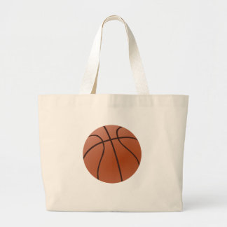 Basket-ball orange grand tote bag