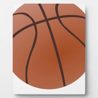 Basket-ball orange plaque photo