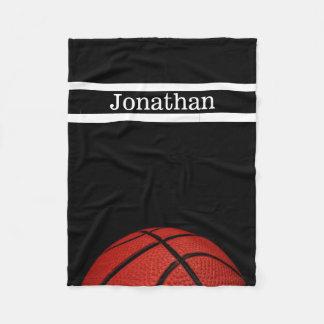 Basket-ball personnalisé avec la couverture nommée