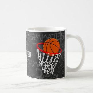 Basket-ball personnalisé et cercle de tableau mug