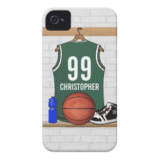 Basket-ball personnalisé Jersey vert
