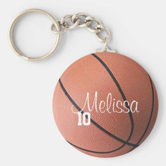 Basket-ball personnalisé Keychain